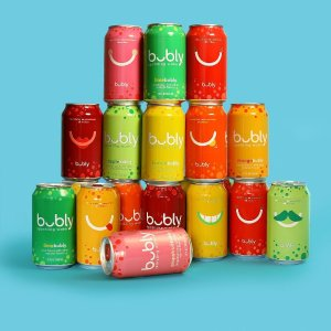 $7.1bubly Sparkling Water, Mango, 12 fluid ounces cans, (18 Pack)