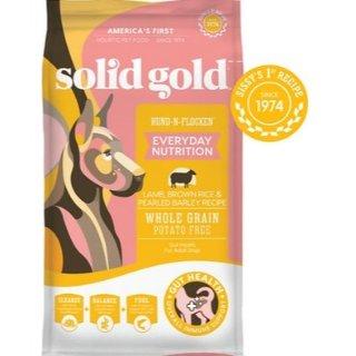 Solid Gold 羊肉糙米大麦味狗粮 28.5lb