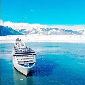 $449起公主游轮 阿拉斯加5天行程 温哥华往返
