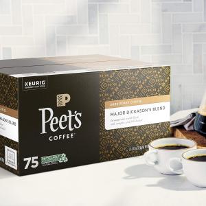 $27.53Peet's Coffee Major Dickason's Blend K-Cup Coffee Pods