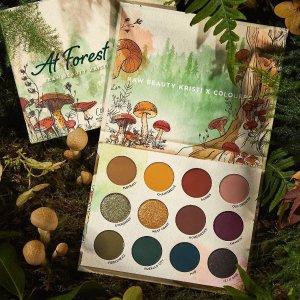 $7起 丛林蘑菇 可可爱爱上新:Colourpop x Raw Beauty Kristix 合作彩妆 火爆开抢