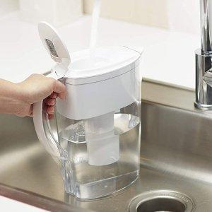 $17.97(原价$21.98)Brita  6杯量 家用滤水壶附赠1个滤芯