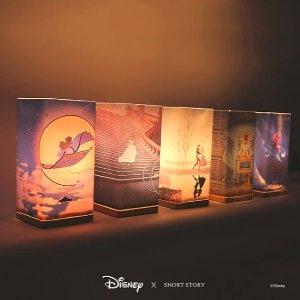 $29收小美人鱼烛台Short Story 迪士尼联名灯具上线啦