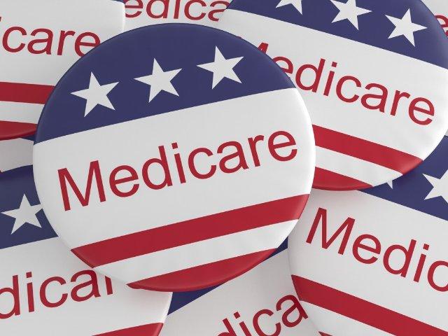 红蓝卡 Medicare 美国退休...