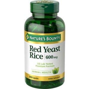 Nature's BountyBuy 1 get 1 FreeRed Yeast Rice Capsules 600mg