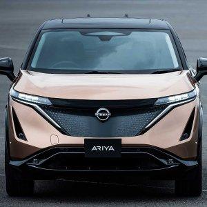 概念车造型 480公里续航2022 Nissan Ariya 次时代纯电动SUV