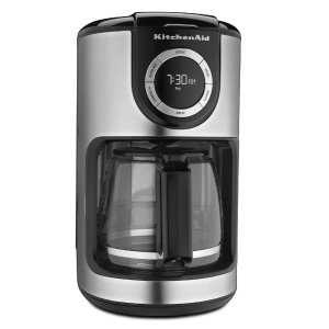$39.81史低价:KitchenAid KCM1202OB 12杯咖啡机