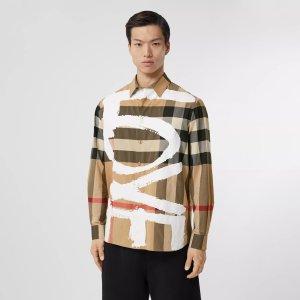 BurberryLove 格纹衬衫
