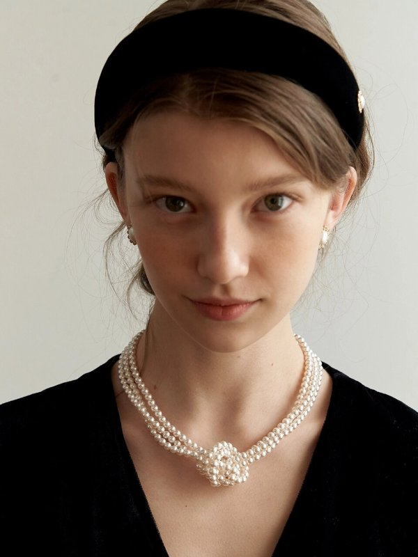 多层式珍珠项链