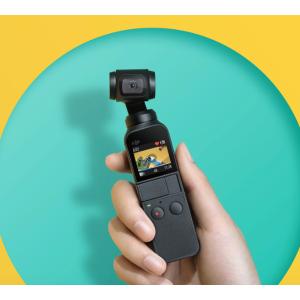 高清vlog玩起来 小就是王道DJI 大疆Osmo Pocket 口袋云台相机 特价折后 €326.95, 原价€359.9
