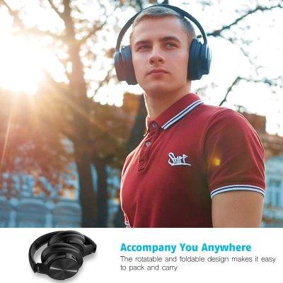 €59.49 (原价€159.99)折扣升级:Mixcder E9 主动降噪蓝牙商务耳机热卖