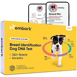 Embark狗DNA测试