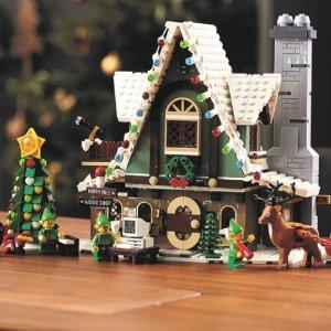 圣诞挂饰€7.79 精灵小屋€87LEGO 圣诞主题系列 打造属于自己的圣诞时光