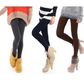 3.2折到手保暖紧身打底裤 5件装,冬天一定要又瘦又暖