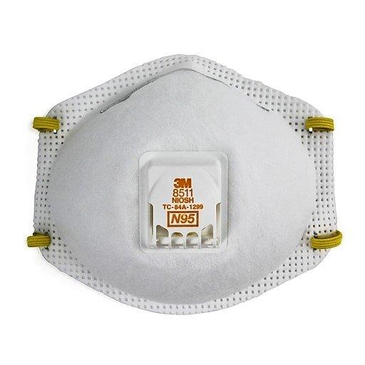 3M N95 8511一次性口罩 10个