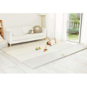 [Alzip Mat] Baby Playmat - Eco Silon Modern (Non-Toxic, Non-Slip, Waterproof) (Modern Gray, XG)