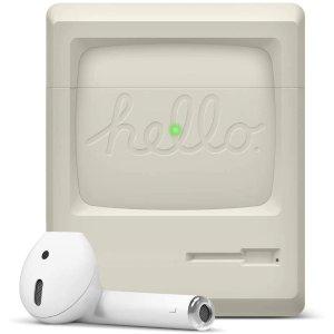 $9.59 为情怀买单elago 经典Apple初代麦金塔造型 AirPods 保护壳