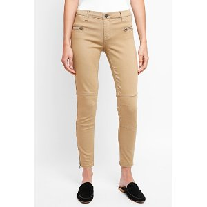 Blank NYCTwill Skinny Ankle Zip Pant