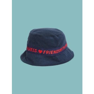 Guessx FriendsWithYou Logo Bucket Hat |