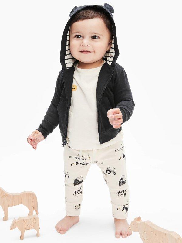 婴儿有机棉外套