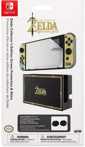 $7.31Nintendo Switch Zelda Collector's Edition Screen Protection & Skins by PDP