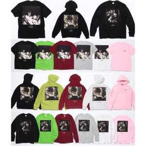 More releasing in store and onlineSupreme Week5 Supreme x Joel-Peter Witkin