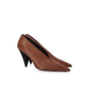 CelineSoft V-Neck 高跟鞋