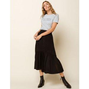 Frill Seeker Ruffle Maxi Skirt