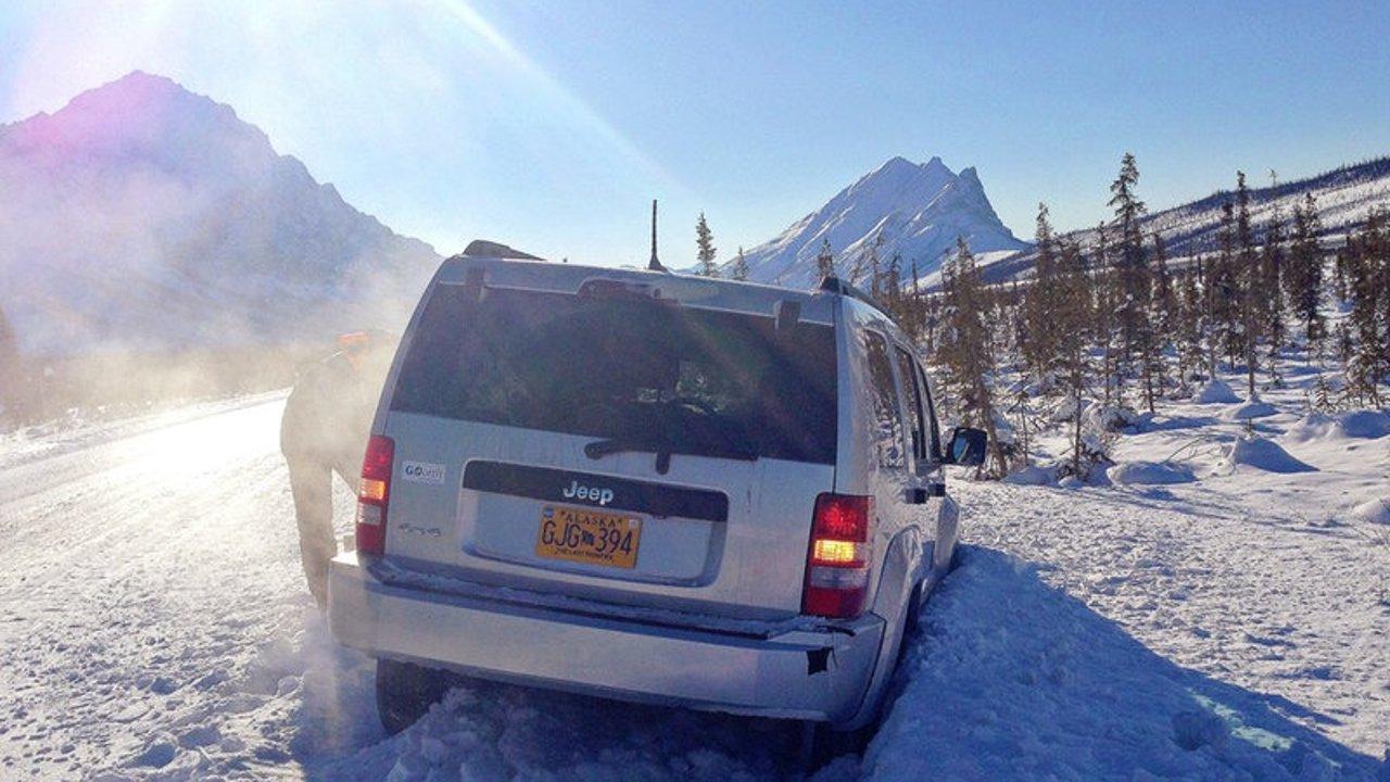 【阿拉斯加冬季极光之旅】狗拉雪橇、车祸和暴风雪的白天行程攻略