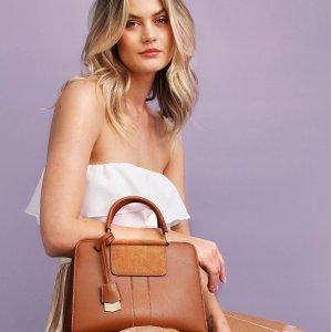 额外7.5折Belle & Bloom 折扣区美包、配饰热卖 入优雅丝巾包