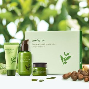 Dealmoon Exclusive!Last Day: Get Intensive Hydrating Serum Set with Green Tea Seed for $25 + 3 free samples @ Innisfree US