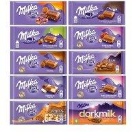 Milka 10款口味条装巧克力 口味随机
