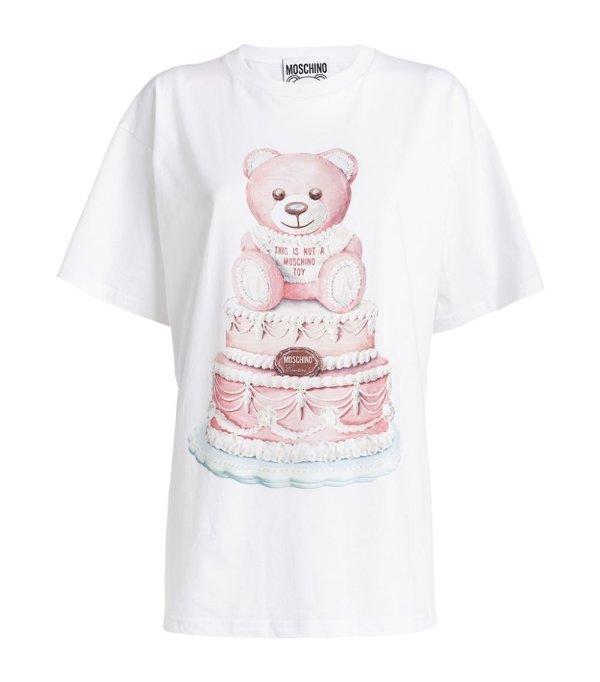 泰迪熊T恤