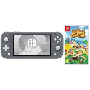 NintendoSwitch Lite灰色+动物森友会