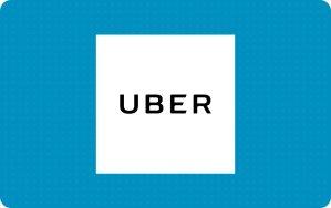$10 半价优惠Uber $20 电子礼卡