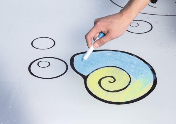 可涂鸦水垫