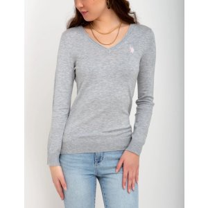 US Polo AssociationSOLID V-NECK SWEATER