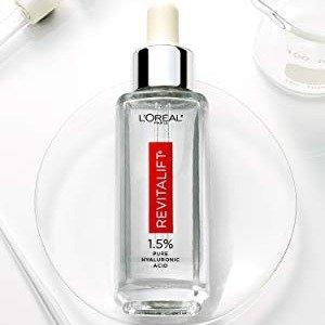 $16.4(原价$23.94)闪购:L'Oreal 欧莱雅透明质酸抗老精华1.0 oz