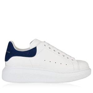一律8.5折!Alexander McQueen 强者电商小白鞋超给力 雾霾蓝、黑尾、粉尾速度冲