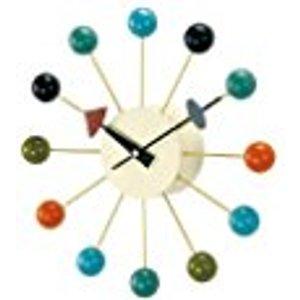(7) 彩色時鐘:Amazon.com: Telechron Atomic Ball Wall Clock, Multi