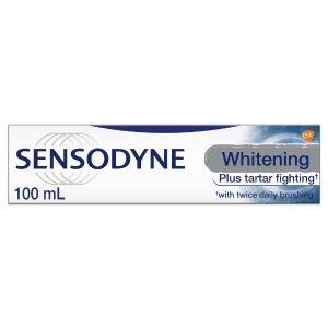$3.76(原价$6.99)Sensodyne Toothpaste 舒适达美白抗过敏牙膏100ml