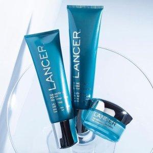 无门槛7.5折+免运费Lancer官网 护肤产品热卖 收磨砂膏套装 不同肤质可选