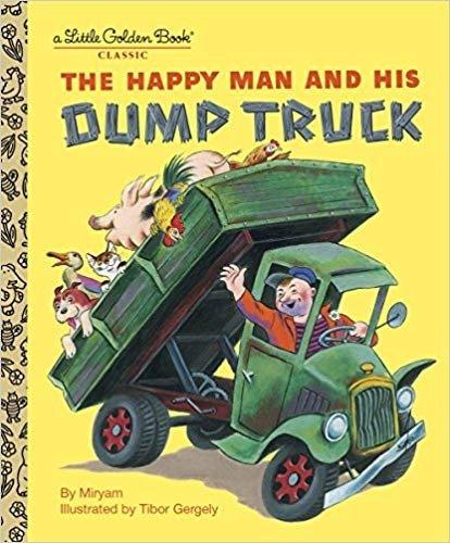 快乐人和他的翻斗车 硬面童书