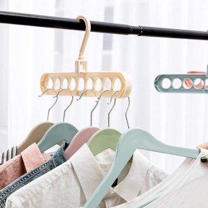 5个装仅€9.98O-Kinee 多功能衣架 家用收纳神器 衣柜空间利用率满分
