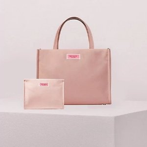 $129Sam Nylon Satchel and Cosmetic Bag Bundle @ kate spade
