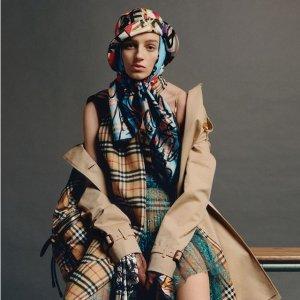 无门槛8折 收经典风衣独家:BURBERRY 服饰、包包、鞋履特卖