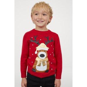 H&M圣诞毛衣