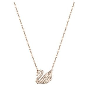 SwarovskiIconic Swan Rose Gold Necklace