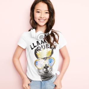 新款T恤仅$5 清仓款$2.99 0-14岁随便挑OshKosh BGosh T恤、背心等儿童上衣优惠 新品额外7.5折