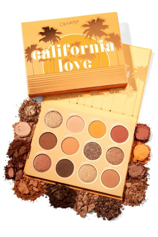 California Love眼影盘